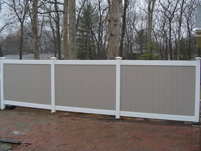 Custom Vinyl Fencing and Vinyl Deck Sales at Customized Vinyl Sales